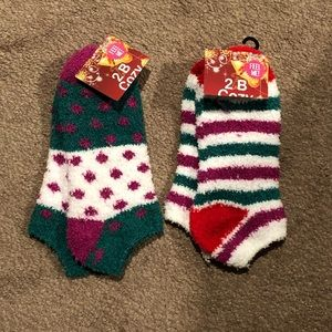 Set of 2 Fuzzy Socks